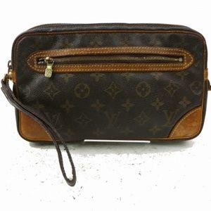 Auth Louis Vuitton Marly Dragonne Gm #1018L70